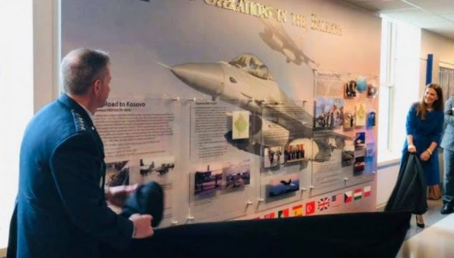 Në Pentagon zbulohet monumenti që i dedikohet ndërhyrjes së NATO-s në Kosovë