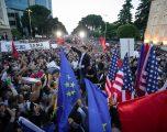Protestë paqësore e opozitës. Basha falenderon ndërkombëtarët: Kërkuan zgjedhje jo pa opozitën