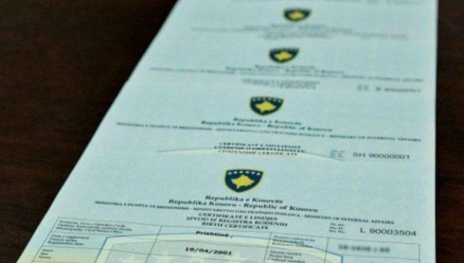MPB sqaron qytetarët për furnizimin me certifikata të gjendjes civile