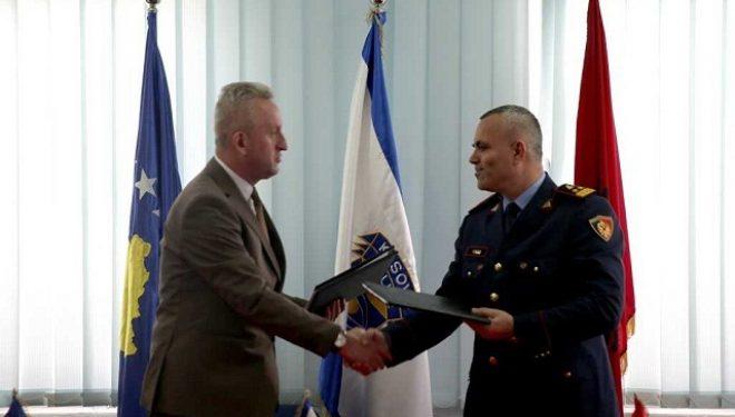 Marrëveshja e Mirëkuptimit për patrullime të përbashkëta në mes të Policisë së Kosovës dhe Shqipërisë