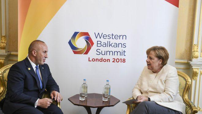 Qeveria gjermane: Fokus i takimit Merkel-Haradinaj marrëdhëniet Kosovë-Serbi