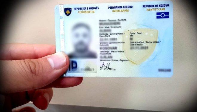 Shteti furnizohet me material për letërnjoftim e pasaporta