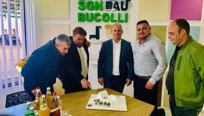 Lladrovci viziton kompaninë e suskeshme të Bucollëve në Gjermani, i fton të investojnë në Kosov