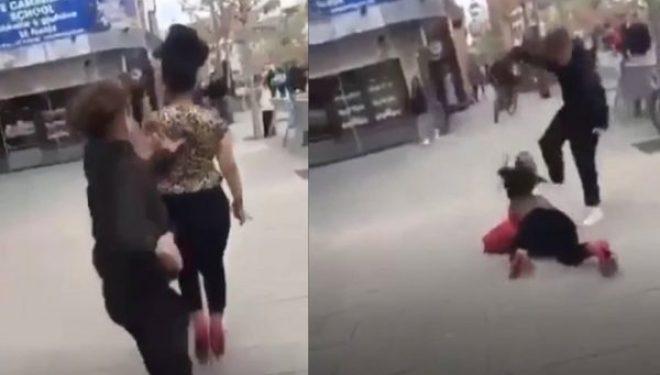 Pamje të rënda: Video e sulmit çnjerëzor ndaj gruas rome në mes të Ferizajt