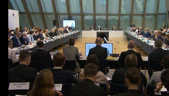 Delegacioni i lartë i BQK-së, pjesëmarrës në konferencën e organizuar nga Banka Qendrore Evropiane