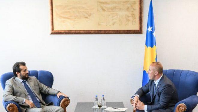 Labinot Tahiri takon Haradinajn, e falenderon për fillimin e asfaltimit të një rruge