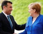 Merkel takon Zaevin: Data e bisedimeve mbetet për në shtator