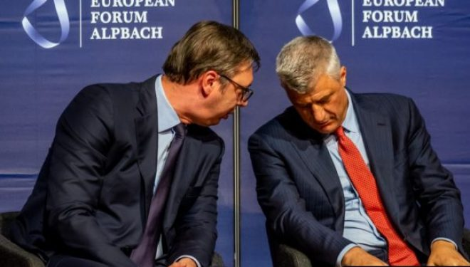 Forumi i Davosit i bën bashkë sot Thacin e Vuçiqin