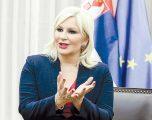 Ministrja serbe bën thirrje të arrihet marrëveshje me Kosovën