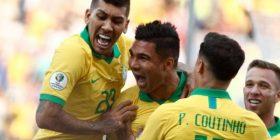 Brazili e turpëron Perunë dhe e fiton grupin në Kupën e Amerikës