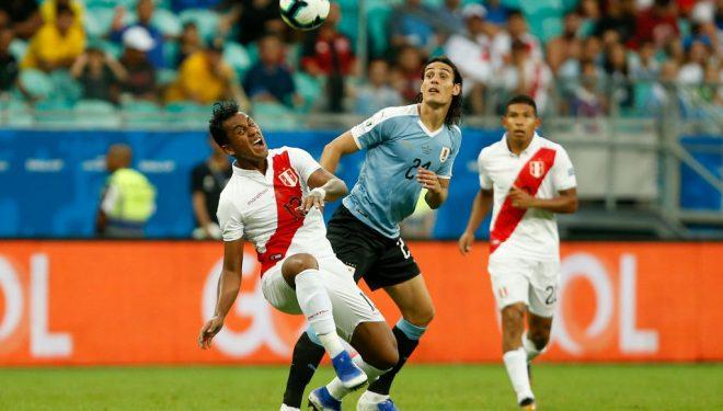 Peru eliminon Uruguain për të kaluar në gjysmëfinale të Kupës së Amerikës
