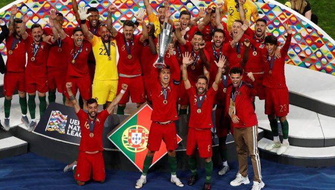 Portugalia, kampionia e parë e Ligës së Kombeve