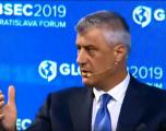 Thaçi në Bratisllavë: Serbia mos ta kushtëzojë dialogun, Parisi mundësi e mirë për vazhdimin e tij