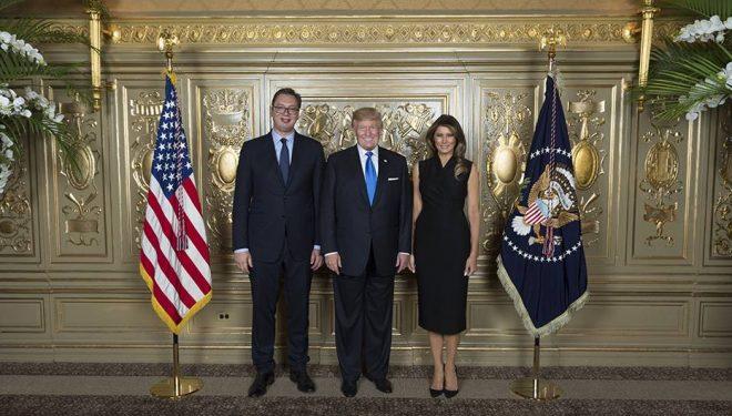 Vuçiqi lut Trumpin të ndikojë që Kosova ta heqë taksën ndaj Serbisë