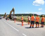 Filloi zgjerimi dhe rehabilitimi i rrugës Zhur – Dragash – Brod