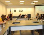Studentë të Universitetit Veror Ndërkombëtar të Prishtinës mësojnë për rolin e BQK-së