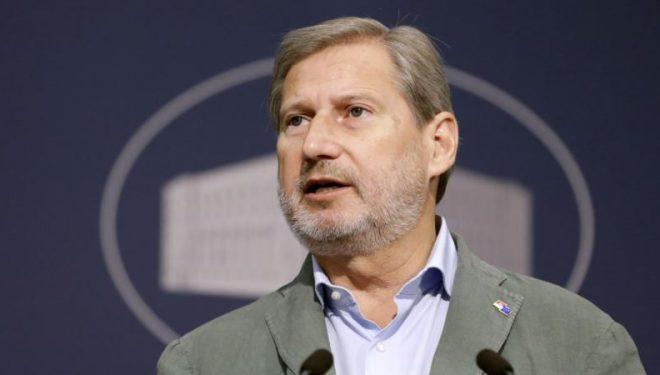 Hahn: Zhgënjim ekstrem mos dakordimi për hapjen e negociatave me Shqipërinë