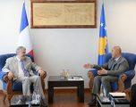 Haradinaj në takim lamtumirës me ambasadorin Chabert: Kosova e konsideron Francën aleat të saj