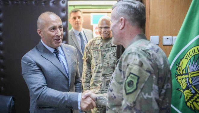 Haradinaj takon komandantin suprem të NATO-s: Kosova e rreshtuar me ushtritë e paqes