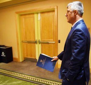 Thaçi: Propozoj si mandatar për të formuar Qeverinë, Albin Kurtin
