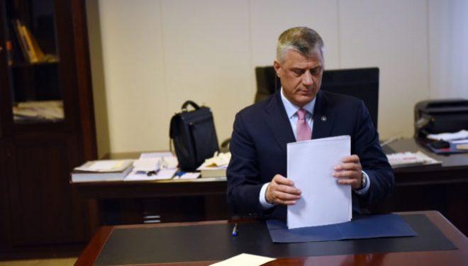 Hashim Thaçi ka fshehur këshilltarin që e ka emëruar para një viti