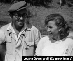 Stojadin Mërxha dhe Radmila Stojanoviq