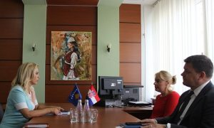 Blerta Deliu-Kodra, takoi ambasadoren e Kroacisë, Marija Kapitanoviq