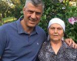 Hashim Thaçi në Burojë për ta festuar ditëlindjen e nënës