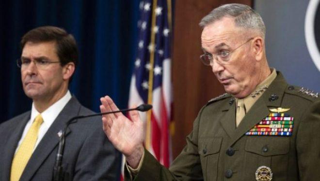 Dunford: Nuk ka plane për tërheqjen e trupave nga Afganistani