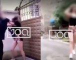 Dy djem rrahin të miturën në Tiranë, dalin pamjet kur adoleshenti i nxjerr pistoletën vajzës (Video)