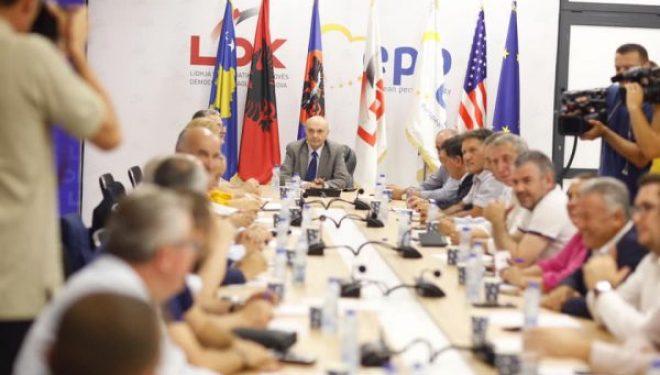 Isa Mustafa është konsensusi për kryetar të LDK-së