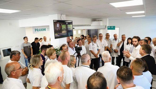 Përurohet transformimi i Emergjencës në Spitalin e Gjilanit