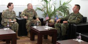 Gjeneral Rama prit në vizitë gjeneralin Phillips nga Komanda e Ushtrisë Amerikane për Evropë