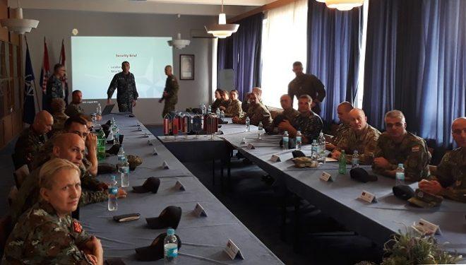 FSK-ja merr pjesë në kampin ndërkombëtar të nënoficerëve