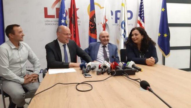 Deputeti gjerman: LDK-ja nuk e ka të nevojshme të hyjë në koalicione, Kosova të jetë pa ndryshime territoriale