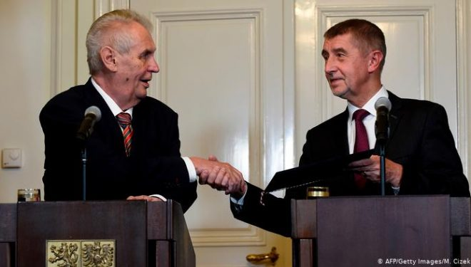 Kryeministri çek bisedoi me presidentin Zeman për çështjen e tërheqjes së njohjes së Kosovës