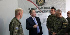 Ambasadori i Britanisë së Madhe vizitoi Qendrën e Trajnimit për Kërkim Shpëtim të FSK-së