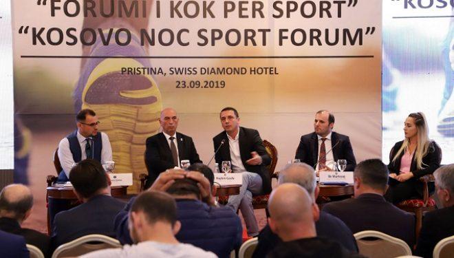 Gashi në Javën Evropiane të Sportit: Jam i fokusuar që të avancoj sportin e Kosovës