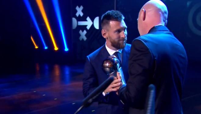 Messi fiton çmimin 'The Best', më i miri për vitin 2019