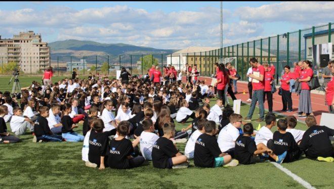 """Për herë të parë në Gjilan, zhvillohet aktiviteti sportiv """"Kids Athletics"""" në kuadër të """"Java Europiane e Sportit"""""""
