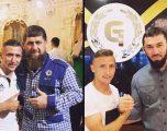 Presidenti ekzotik i Çeçenisë, Kadyrov, e shpërblen me një veture futbollistin e Kosovës, Bernard Berisha