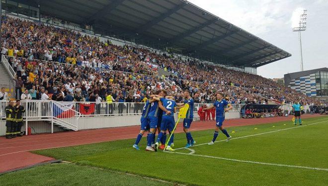 Kosova bëhet lider i Grupit A, mposht me shumë spektakël Republikën Çeke në 'Fadil Vokrri'
