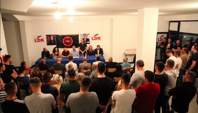 Deremahalla e Gjilanit konfirmon mobilizimin e jashtëzakonshëm të LDK'së për zgjedhjet e 6 tetorit