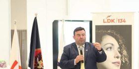 Faton Bislimi i LDK-së merr mbështetje nga shqiptarët në Amerikë