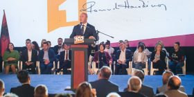 Haradinaj merr mbështetje në Gjilan