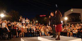 """Luta e Vjosa marshojnë në Gjilan me """"ushtarët e Ibrahim Rugovës"""""""
