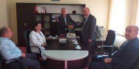 Ambasador Nder për Paqen Botërore nga Gjeneva, Tahir Shabani u takuan me Drejtori i Arkivit