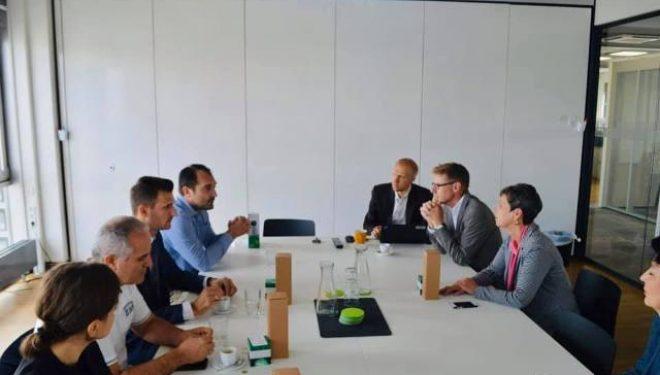 Shala viziton disa kompani dhe institute në Gjermani, diskuton për mundësitë e bashkëpunimit