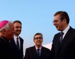 Lutja e Vuçiqit ndaj Papa Françeskut për Kosovën