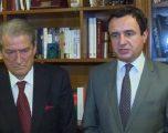 """Berisha: Albin Kurti është një lider me një fibër të fortë politike, është """"kafshë politike"""""""